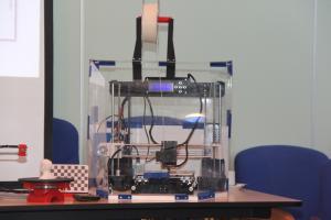 2017-06-07 - 20 - 3D printing demo HCC!Noord-Limburg
